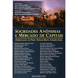 Sociedades Anônimas e Mercado de Capitais: Homenagem ao Prof. Osmar Brina Corrêa-lima