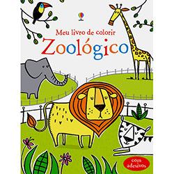 Zoológico - Meu Livro de Colorir