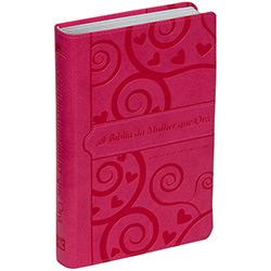 Bíblia da Mulher Que Ora - Pink