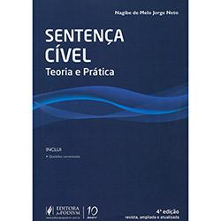 Sentença Cível: Teoria e Prática (2013 - Edição 4)