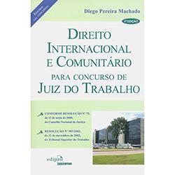 Direito Internacional e Comunitário para Concurso de Juiz do Trabalho