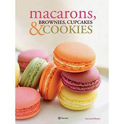 Macarons, Brownies, Cupcakes e Cookies