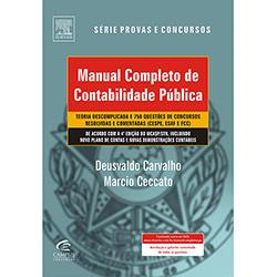 Manual Completo de Contabilidade Público - Série Provas e Concursos