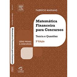 Matemática Financeira para Concursos - Teoria e Questões