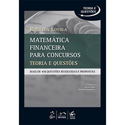 Matemática Financeira para Concursos: Teoria e Prática