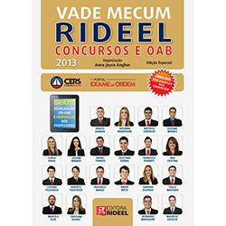 Vade Mecum Rideel Concursos e Oab (2013 - Edição 1)