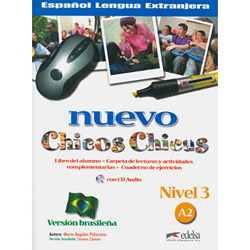 Nuevo Chicos Chicas: Libro Del Alumno + Carpeta de Lecturas Y Actividades Complementarias + Cuaderno de Ejercicios - Nivel 3 - A2