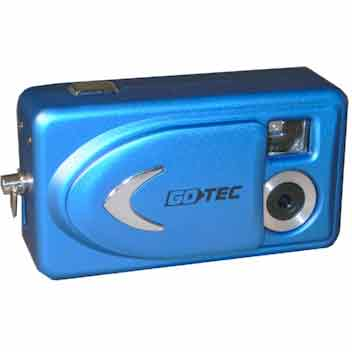 Câmera Digital Gotec Azul 2.0mp - Mini Blue