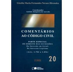 Comentarios ao Codigo Civil: Parte Especial do Direito das Sucessoes - Vol.20