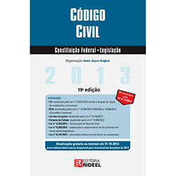 Leis Rideel 2013: Código Civil, Constituição Federal, Legislação