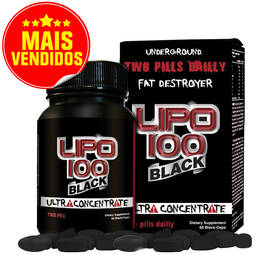 Intlab Lipo 100 Black 60 Tablets