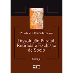 Dissolução Parcial, Retirada e Exclusão de Sócio (0)