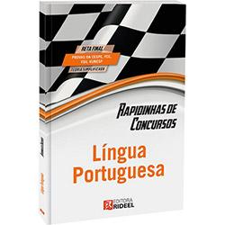Rapidinhas de Concursos: Língua Portuguesa (2013 - Edição 1)