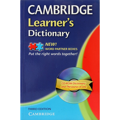 Camb Learners Dict W Cd-rom 3ed