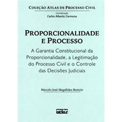 Proporcionalidade e Processo: a Garantia Constitucional da Proporcionalidade, a Legitimação do Processo Civil e o Contro
