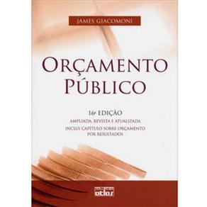 Orçamento Público - James Giacomoni