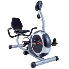 Bicicleta Ergométrica Houston Be50ac Horizontal Magnética Com Display Eletrônico