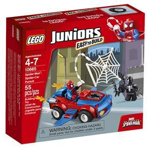 Lego Juniors Ataque do Carro Aranha 10665
