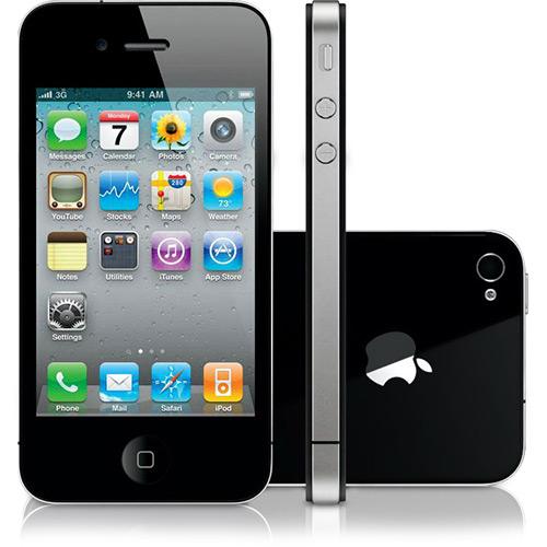 Celular Smartphone Apple Iphone 4s 32gb Preto - 1 Chip