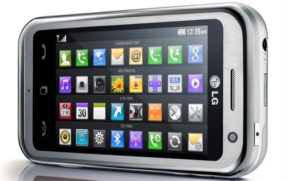 Celular Lg Km900 Prata - 1 Chip