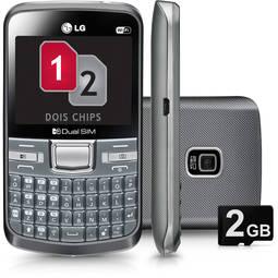 Celular Smartphone Lg C199 50mb Prata - Dual Chip