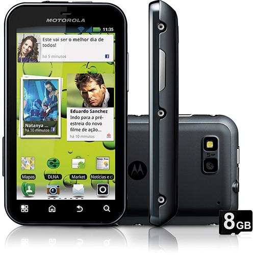 Celular Smartphone Motorola Mb526 Cinza - 1 Chip