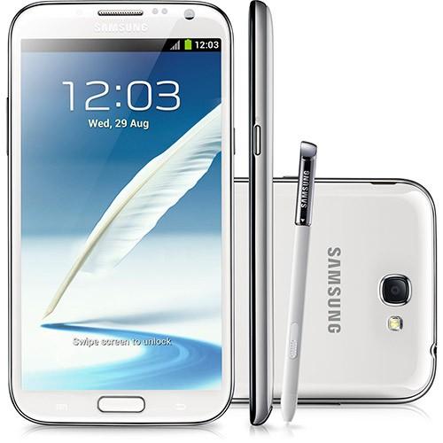 Celular Smartphone Samsung Galaxy Note 2 Gt-n7100 16gb Branco - 1 Chip