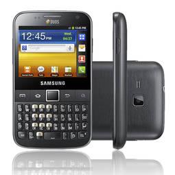 Celular Smartphone Samsung Galaxy Y Pro B5510b 512mb Preto - 1 Chip