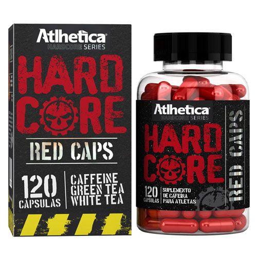 Atlhetica Nutrition Hardcore Red Caps 120 Cápsulas