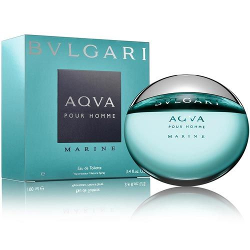 Perfume Aqva Marine Bvlgari Eau de Toilette Masculino 50 Ml