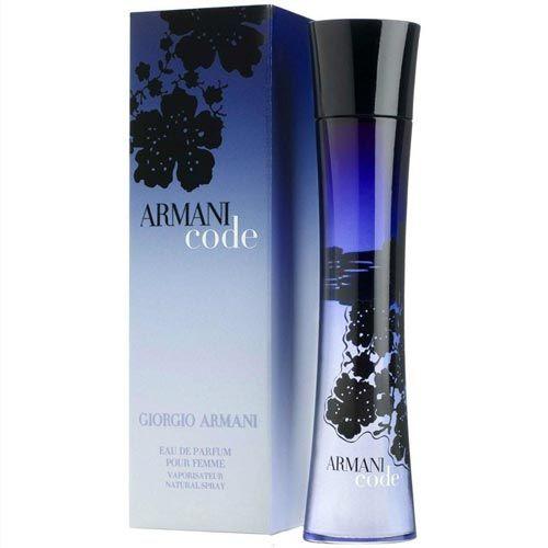 Perfume Armani Code Giorgio Armani Eau de Parfum Feminino 50 Ml