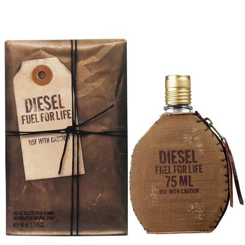 Perfume Fuel For Life Diesel Eau de Toilette Masculino 50 Ml