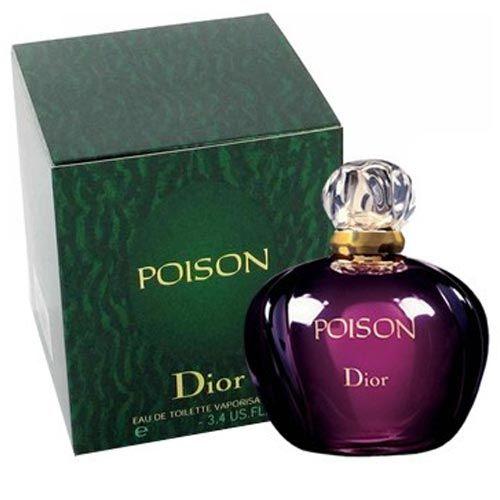 Perfume Poison Christian Dior Eau de Toilette Feminino 50 Ml