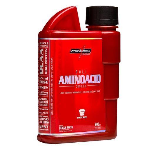 Poli Aminoacid 38000 600ml Cereja Preta Integralmedica