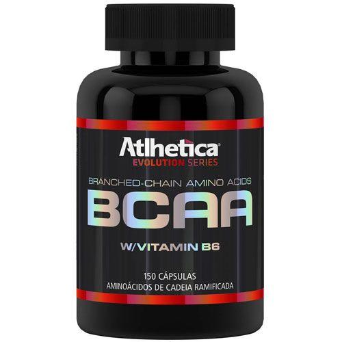 Bcaa Com Vitamina B6 - 150 Cápsulas Atlhetica Nutrition