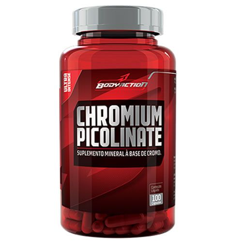 Body Action Chromium Picolinate 100 Cápsulas
