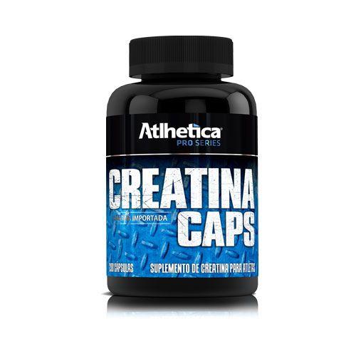 Creatina Caps - 200 Cápsulas Atlhetica Nutrition
