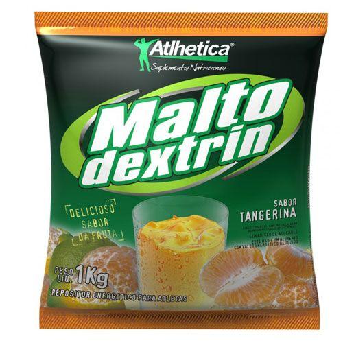 Maltodextrin 1kg Tangerina Atlhetica Nutrition