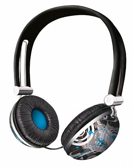Fone de Ouvido Headphone Urban Revolt Future Breeze Trust 17556