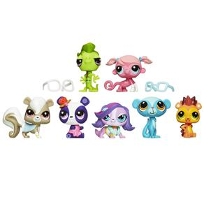 Littlest Pet Shop Bonecas 7 Unidades - Hasbro