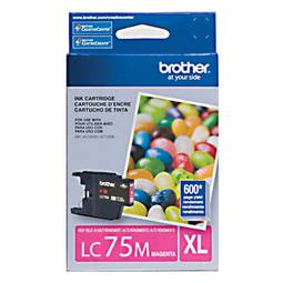 Cartucho Brother 7ml Magenta Lc75m