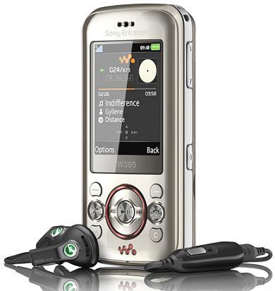 Celular Sony W395 10mb Prata - 1 Chip