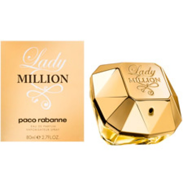 Perfume Lady Million Paco Rabanne Eau de Parfum Feminino 80 Ml