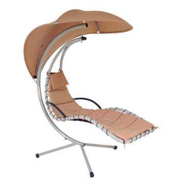 Cadeira Balance Aço e Poliéster Mor