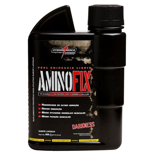 Amino Fix Liquid 650ml Laranja Integralmedica