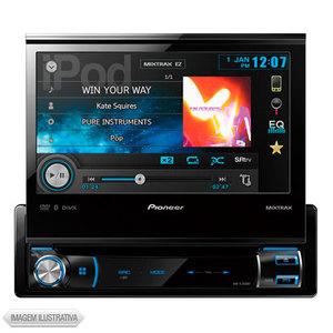 Som Automotivo Com Dvd Player Pioneer - Avhx7550bt