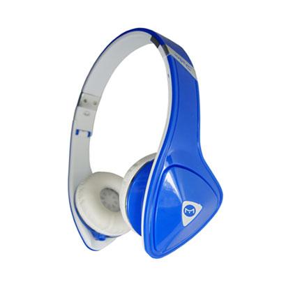 Fone de Ouvido Headphone Stereo Azul e Branco Mystic My-fhp333