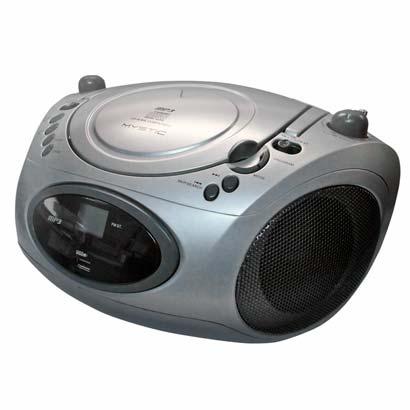 Rádio Portátil Com Cd Mystic W Rms - Cd800usb