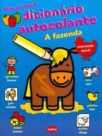 Meu Primeiro Dicionario Autocolante - a Fazenda