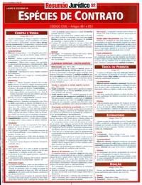 Resumao Juridico - Especies de Contrato